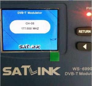 China Original Modulator HDMI To Digital RF Modulator Satlink HD WS 6990 on sale