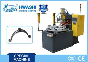China Pipe Clamp Auto Parts Welding Machine With Rotary Table 900 x 1300 x 1700mm on sale