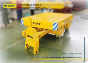 China Cement Floor Heavy Duty Industrial Carts Steel Coils And Die Transport on sale