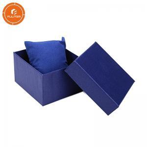 China Kraft Paper Strap Cardboard Watch Box Packaging Watch Gift Box Customized Size on sale
