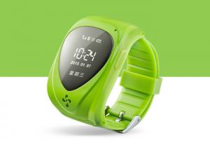 China GSM+ GPRS+ GPS Single SIM Card Tracker Watch For Children Android IOS on sale