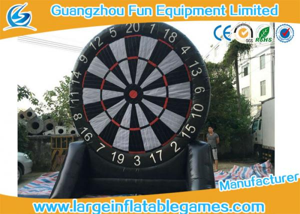 Single Side Commercial Inflatable Dart Board Dart Games For Kids