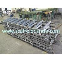 High quality scaffolding steel galvanized ladder 550*2370mm, 850*2691mm 8 steps ladder 9 steps ladder in construction