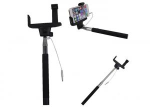 China Cordless Foldable bluetooth camera shutter monopod / selfie photo stick on sale