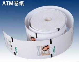 China Office ATM paper roll sheets thermal paper Wholesale Thermal Self-adhesive Labels Stickers on sale