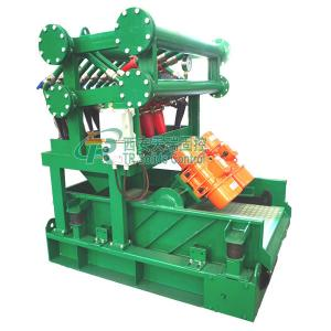 China DN150mm Inlet Drilling Mud Cleaner , Customized Oilfield Mud Cleaner on sale