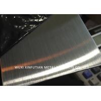 Anti - Fingerprint Hairline Finish 304 Stainless Steel Sheet Surface NO.4 / 4K