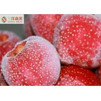 IQF Seedless Organic Frozen Fruit , Hawthorn Tree Fruit Dia 21 - 28mm