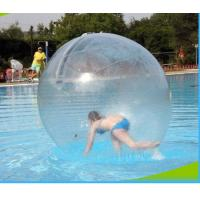 Good Tension Inflatable Water Walking Ball Colorful Custom For Swimming Pool