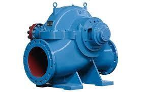 China Electric Horizontal Double Suction Centrifugal Pump Anti - Clockwise Rotation on sale