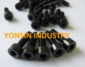China Titanium black(colorful) allen bolts on sale
