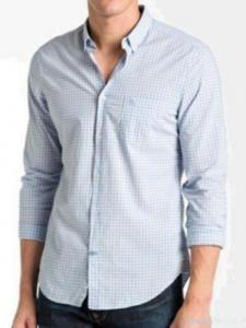 China Men's Trim Fit Casual Shirt on sale