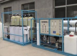 China 10ppm Water Desalination RO water treatment plant on sale