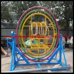 China Indoor fitness equipment park game human gyroscope ride 4 seats on sale