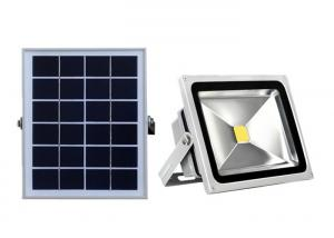China Warranty 3 Years COB Solar Powered LED Flood Light , 20W IP65 Tunnel Spotlight on sale