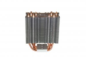 China Customized Stamping Aluminum Copper Pipe Heat Sink on sale