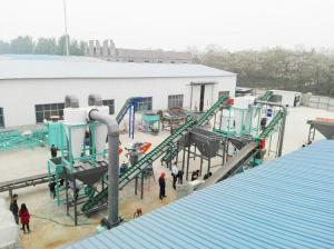China 2T/H Wood Pellet Plant Complete Wood Pellet Plant for Manufacturing Pine,Oak,Beech Wood Pellets on sale