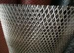 China Heavy Duty Streched Expanded Metal Mesh 6mm Thickness 11.5kgs / M2 For Walkway wholesale