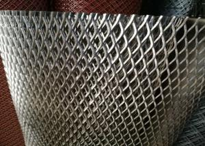 China Heavy Duty Streched Expanded Metal Mesh 6mm Thickness 11.5kgs / M2 For Walkway on sale