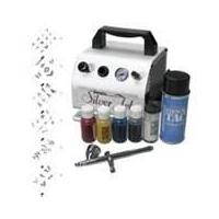 12W 6000 Cheap Airbrush Tattoo Kits for Body Art, Nair & Hair Painting Art