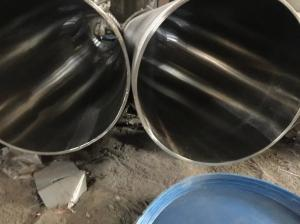 China Welded Type and Spiral Welded Welding Line Type Stainless Steel Pipe on sale