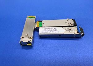 China 1490nm DFB Laser Fiber Optic SFP Module 100BASE 60KM Simplex LC RX1550nm on sale
