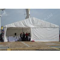 Rustless Hard Aluminum Structure Garden Party Canopy Tents White PVC Fabric