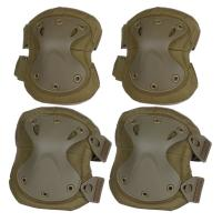 Tactical Combat Molle Gear Accessories Knee Protection Pads , High Safe Knee Pad