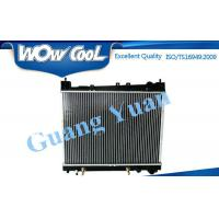 High Efficiency Toyota Aluminum Radiator For 2014 HIACE / QUANTUM Core Thickness 26mm