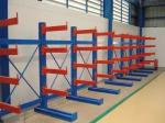 Single / Double Side Warehouse Cantilever Steel Rack Custom Size ISO9001 / SGS