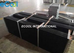 China Epoxy Coating Anti Corrosive Heat Exchanger Copper Tube Aluminum Fins on sale