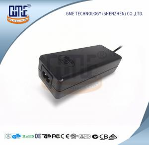 China 24v 3a Desktop Switching Power Adaptor Black 2 Pin 47Hz - 63Hz for Computer on sale
