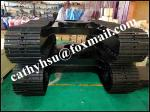 custom design steel crawler track undercarriage from china manufacturer