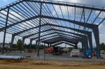 Larger Span Building Steel Frame As Structural Steel Warehouse And Workshop