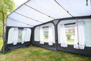China Waterproof Trailer All Season Caravan Full Awnings for Camping on sale