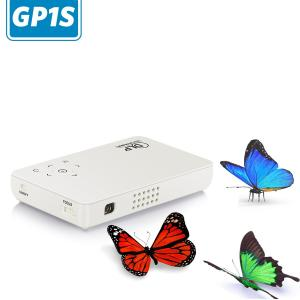Quality simplebeamer GP1S DLP PICO led Projector,real portable micro projector,800x480 for sale