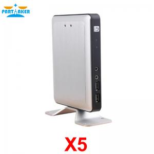 China RDP8 Thin Client X5 for Windows MultiPoint Sever and Windows 8 Fanless Cloud Computer VMware USB Printer 720P Online on sale
