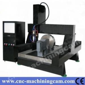 China dimeter 400mm rotary ,cnc granite engraving machine ZK-9015(900*1500*700mm) on sale