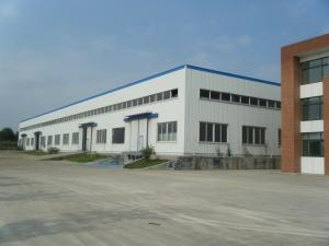 China Cheap light steel frame buildings prefabricated steel structure warehouse for sale on sale
