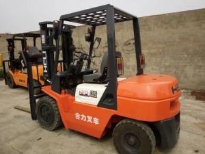 China 2014 Year HELI 2nd Hand Forklift Trucks3.5 Ton CPCD35 Original Paint No Oil Leakage on sale