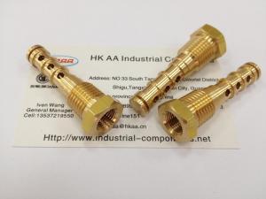 China High precision brass air compressor valve on sale