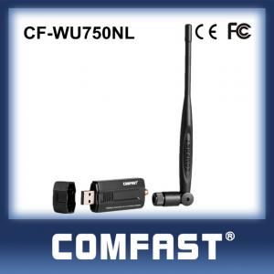 China Comfast CF-WU750NL wifi usb adapter with external antenna Non-driver installation on sale