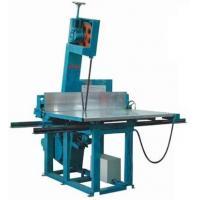 China PU / Polyurethane Vertical Foam Cutting Machine , High Density Foam Cutter Equipment on sale