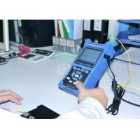 Shock / Dust Proof USB RS-232 Fiber Optic Test Equipment Palm OTDR Tester
