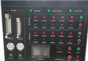 China IEC 60331 0.6KV 1.3 KV Electric Cable Fire Retardant Testing Machine on sale