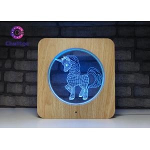 Deco 3D LED Illusion Lamps USB Charge Remote Controller USB Cable Touch Screen