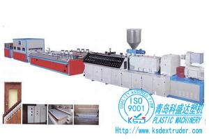 China WPC profile production line| WPC profile extrusion line on sale