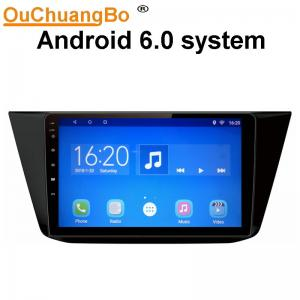 China Ouchuangbo car radio stereo multi android 6.0 for VW Tiguan 2017 with SWC gps navi 1080P Video 4 Cores on sale
