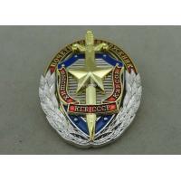 Zinc Alloy Synthetic Enamel Police Badges for Anniversary Celebration