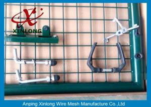 China Professional Wire Mesh Gate , Durable Chain Link Fence Gate Easy Install on sale